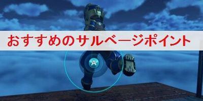 """【ゼノブレイド2】おすすめの「サルベージポイント」を解説"""""""