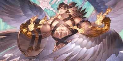 """【グラブル】「ウリエル」の召喚・加護とステータス"""""""