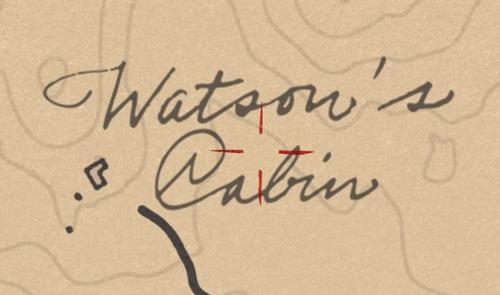 ワトソンの山小屋 位置 詳細