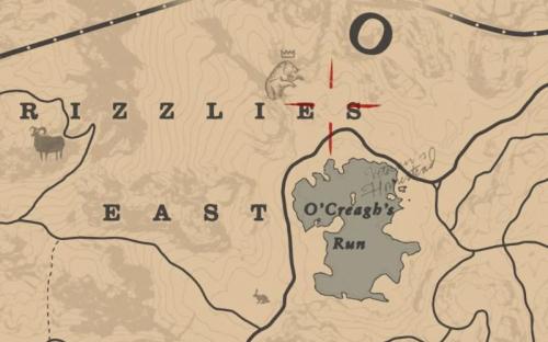 伝説のハイイログマの出現場所
