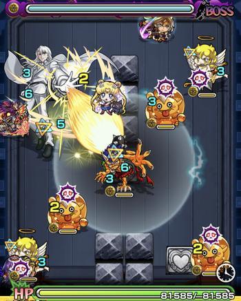 クンツァイト(究極) ボス1戦目