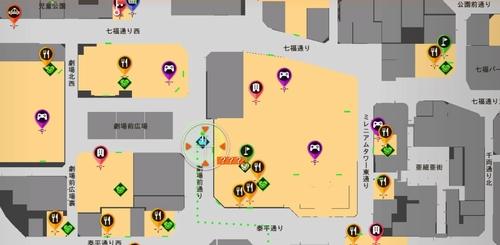 続・神室の爆弾魔 場所