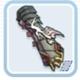 キツネ紋様の手甲