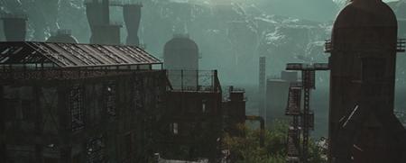 複製サレタ工場廃墟