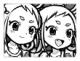 双掌星のシシル&コマリ