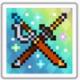 極彩宝石の双剣